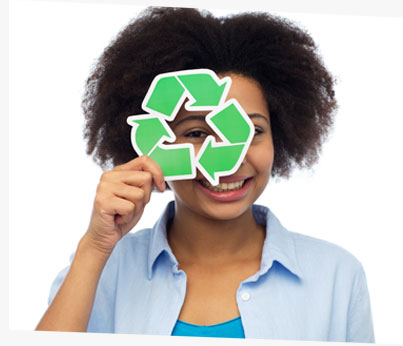 Individuals can recycle!